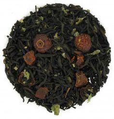 Pomegranate Rosehip Flavored Black Tea - Loose Leaf http://www.englishteastore.com/loose-leaf-tea-pomegranate-rosehip.html