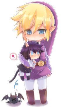 Purple Link four swords