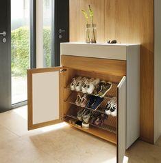 √ Smart Storage Hacks for Shoe Lovers Shoe Storage Design, Wood Shoe Storage, Entryway Shoe Storage, Closet Shoe Storage, Smart Storage, Storage Hacks, Design Hall, Flur Design, Paris Room Decor