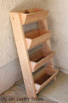 Cedar Planter Boxes | City Girl Country Dreams