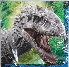 Jurassic World Images Reveal Hybrid Dinosaur Indominus Rex