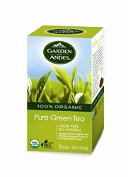 Garden of the Andes is committed to ecologically sound business practices. So, when searching for a Green Tea source, they applied the same exacting standards for sustainable farming that they demand from their own operations. Their organic Green Tea garden is found in the finest tea-growing region of China. Their meticulous growing and harvesting requirements, blended with ancient wisdom, yield a superior, flavorful crop with maximum health benefits.