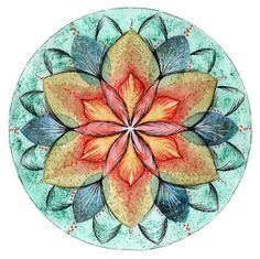4/30 Mandalas are always like home / Guada's art place