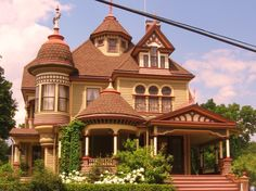 A favorite Victorian home in Tunkhannock, PA.