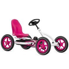 BERG Toys Buddy Childrens White Pedal Go-Kart