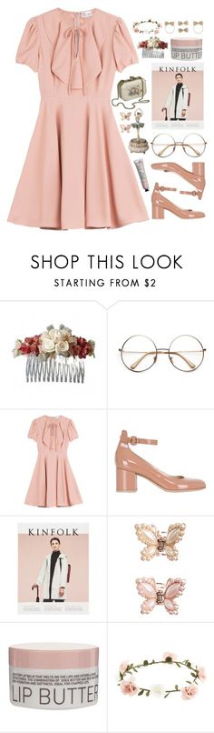 """I just wanna dance with somebody"" by annaclaraalvez ❤ liked on Polyvore featuring CO, RED Valentino, Gianvito Rossi, Kenzo, Monsoon, Korres and Accessorize"