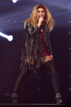 Shania Twain performs in concert at Madison Square Garden in New York on June 30, 2015.