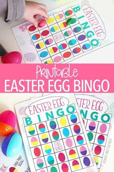 Take your Easter egg hunt up a notch with Easter Egg Bingo - a printable Easter game that you can play lots of ways! Use it on your Easter egg hunt or play at your Easter party. Perfect for the classroom too!