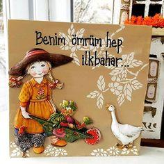 Ece Aymer Craft House Ankara (@eceaymercrafthouseankara)   Instagram photos and videos Wood Wall Shelf, Canvas Art, Canvas Prints, Wood Panel Walls, Autumn Forest, Wooden Jewelry Boxes, Flower Wall, Picture Wall, Wall Murals
