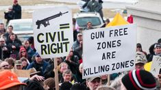 Image result for gun protests in america