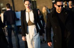 On the Streets of London Fashion Week Fall 2014 -Street Style Day 3