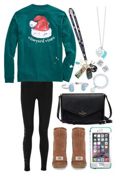 17 days till Christmas songs are acceptable. Just 17 days. Stay strong. 17 days. by classically-kendall ❤ liked on Polyvore featuring NIKE, UGG Australia, LifeProof, Tiffany  Co., Vineyard Vines, Moon and Lola, CB2, Lilly Pulitzer and Kendra Scott