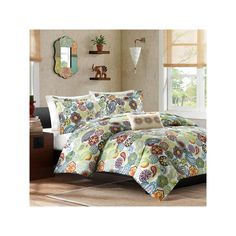 Mi Zone Asha Comforter Set, Multicolor