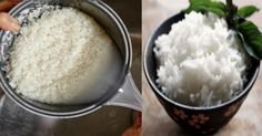 How to Cook Rice with Coconut Oil to Burn More Fat and Absorb Half the Calories - Home Healthy Habits Coconut Oil For Teeth, Coconut Oil Pulling, Cooking With Coconut Oil, Coconut Oil Uses, Rice Types, Good Food, Yummy Food, Ate Too Much, How To Cook Rice