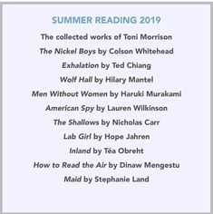 Summer Reading Lists, Beach Reading, Barack Obama Dad, Book Club Recommendations, Book Buyers, Best Beach Reads, Book Suggestions, First Novel, Book Of Life