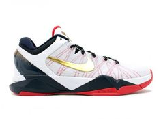 "Nike Zoom Kobe VII ""Gold Medal"" the original colorway for the USA kobe's weren't that impressive but man these with the gold accents make it dope!"