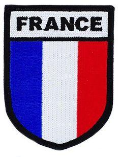 Patch ecusson brodé opex tap insigne france armée militaire airsoft: Magnifique ecusson brodé Composition :100 % polyester Taille 8x6cm