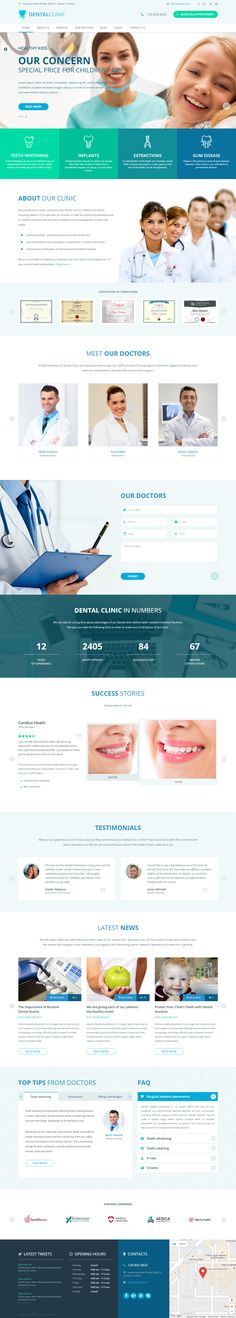 DentalClinic is awesome and creative responsive HTML5 template created for…