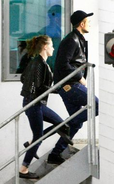 Robsten Dreams: Robsten Pic of the Day ~ Making time for some fun while working. -- Germany after Bowling, during BD2 Promo, Nov 2012