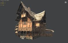 Watermill Scene UDK - Polycount Forum