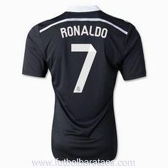Nueva Tercera camiseta de Ronaldo 7 Real Madrid 2015
