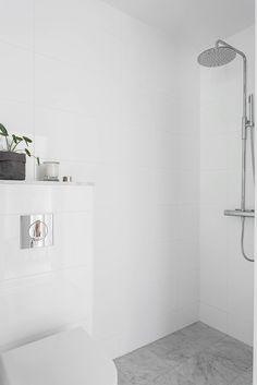 Minimalist wet room