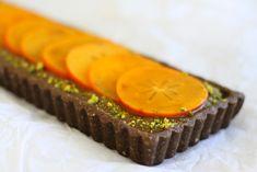 Chocolate Persimmon Tart a la Golubka