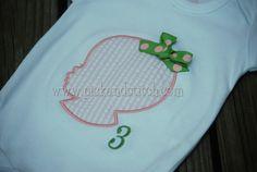 Baby Silhouette Applique Design - Pick & Stitch