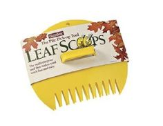 Still picking up leaves? Use these Leaf Scoops to help move yours to the flower beds for natural mulch! Available at Amazon.com