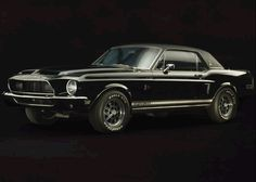 1968 Shelby Mustang EXP 500 CSS The Black Hornet