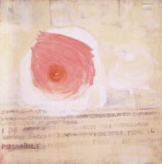 "brugnone: "" Gastone Novelli, Telegramma, 1960 """