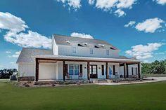 Best House Plans, House Floor Plans, Acadian Homes, European Plan, Modern Farmhouse Plans, Farmhouse Style, Country Style, Cottage House Plans, Houses