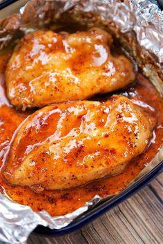 3-Ingredient Brown Sugar Italian ChickenReally nice recipes.  Mein Blog: Alles rund um die Themen Genuss & Geschmack  Kochen Backen Braten Vorspeisen Hauptgerichte und Desserts # Hashtag