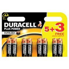 Don't forget the all important batteries this christmas Duracell Plus Power (AA)  Alkaline Battery Pack of 5 with 3 Free AA Batteries (October - December 2015)