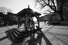 Sandomierz, studnia