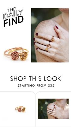 """The Daily Find: Mr. Kate Rings"" by polyvore-editorial ❤ liked on Polyvore featuring DailyFind"