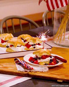 star-shaped shortcakes <3