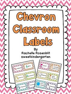 This pack includes 48 classroom labels for all of your supplies. Each card features both a picture and text identifiers. For durability I recommend printing on cardstock and laminating before cutting them out. I like to hole punch two holes in the top and attach them to my baskets using book rings, but you could also tape them to baskets or shelves.