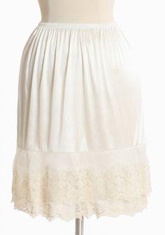 Slip to make a dress longer