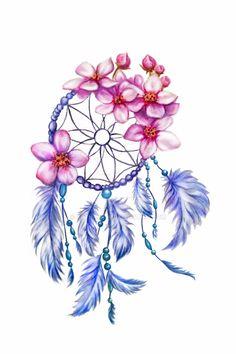 Love Tattoos, Beautiful Tattoos, Body Art Tattoos, Tattoo Drawings, Small Tattoos, Dream Catcher Drawing, Dream Catcher Tattoo Design, Dreamcatcher Wallpaper, Arte Fashion