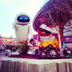 Wall-e #DisneylandParis