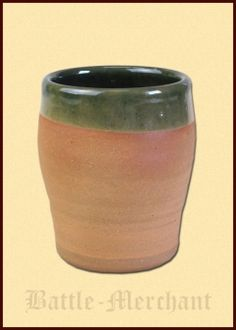 Historical Wine Cup from Clay, 0.2l