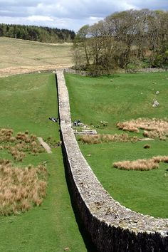 We walked atop Hadrians Wall and visited Roman outposts built along the way.
