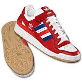 buy popular 834ad 10389 Adidas Originals Forum RS Low. Digging the patriotic color scheme. Cool  Trainers, Running