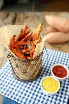 Simple Sweet Potato Fries (Paleo + Refined Sugar Free)