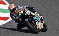 Lataa kuva Simone Corsi, 4k, ratsastaja, Moto2, Nopeuttaa Kilpa