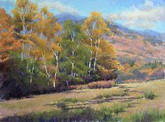 Jacob Aguair - Autumn in the White Mountains, Oct 14 Pastel