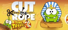 Join Om Nom as he travels back in time to feed his ancestors with candy. Cut the Rope: Time Travel is a completely new adventure filled with time-traveling, candy-crunching, physics-based action! Cut The Ropes, His Travel, Game App, Back In Time, New Adventures, Family Guy, Amazon, Fictional Characters, 3