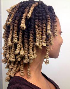"lady-loc: ""Pipe curls "" Beautiful *-*"
