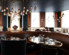 Luxury interior design! European Hotel Design Awards winner- Plum & Spilt Milk Restaurant | Design Contract